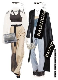 """""""BALENCIAGA"""" by divinenk ❤ liked on Polyvore featuring Yeezy by Kanye West, Balenciaga, Current Mood, Jason Wu, Cheap Monday, Richard Tyler, Lucky Brand, Gucci, Tomas Maier and Hermès"""