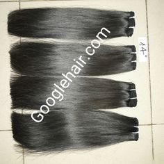 Straight Macchine Weft Hair - Real Hair Extensions