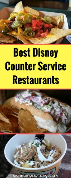 Top 10 counter service restaurants - Disney in your Day