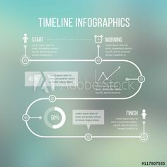 Timeline Infographic Template - Buy this stock vector and explore similar vectors at Adobe Stock Timeline Infographic, Infographics, Resume Templates, Chart Design, Layout Design, Business Plan Layout, Business Design, Crea Design, Flowchart