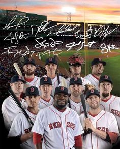 2013 Red Sox #WorldSeriesChampions ...Happy to say, called this one since the beginning of the season year! Love this team!!