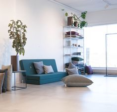 KK 3 Fold in deep green from by KlipKlap. Multipurpose furniture in Danish design for both kids and adults.