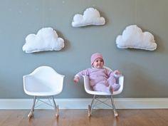 Decoración de Bebés en las nubes