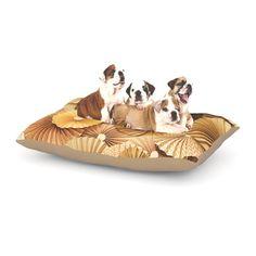 "Heidi Jennings ""Caramel Latte"" Yellow Gold Dog Bed"