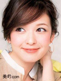 Erika Mori (≧∇≦) Japanese Makeup, Japanese Eyes, Cute Japanese, Japanese Beauty, Cute Beauty, My Beauty, Beauty Women, Beautiful Asian Girls, Beautiful Women