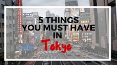 Your vacation time is precious. Don't screw it up like I almost did. Here are my Top 5 Tokyo Travel Tips for not messing up your vacation to Japan.
