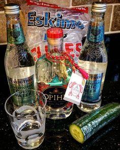 and Let the shenanigans begin Gin Mixers, Vodka Bottle, Let It Be, Drinks, Instagram Posts, Drinking, Beverages, Drink