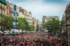 Human towers in Tarragona (September, 2014)