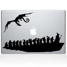 The Hobbit Macbook Decal by stikrz on Etsy, $9.98  Dan, me want!! :)