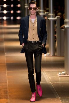 Saint Laurent Spring 2014 Men's Collection Rock on