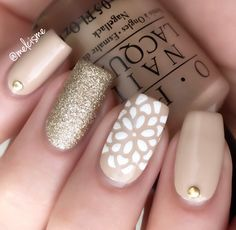 neutral nail design
