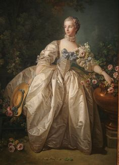 Madame Bergeret, oil on canvas, possibly 1766, Francois Boucher (French, 1703-1770), National Gallery of Art, Washington DC., 2012