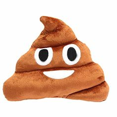 Funny Emoji Poo Shape Pillow Cushion Stuffed Doll Toys Xmas Christmas Gift   This funny poo shape pillow is a good gift for friends,children,home decoration decor and so on.   The cushion is made of polyester and cotton which are extremely soft and comfortable.   Suit for : Christmas, Home, Hotel, Decorative, Chair, Bedding   Style: Cute Emoji Cushion Shit Poop Pillow   Soft & comfortable   Color:Coffee   Material: Polyester & Cotton   Size:36X31X10cm (approx)   Package Size:38X33X12...