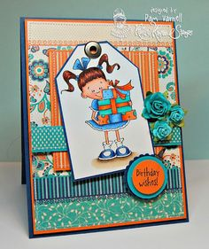 The Stamping Addict: KRAFTIN' KIMMIE STAMPS - July Previews Day 2 with a Deconstructed Sketch