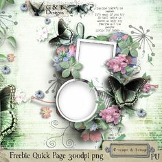 G & T DESIGNS MY SWEET IMAGINATION #QP #FREEBIE at e-scapeandscrap shop --- #digiscrap #digitalscrapbooking