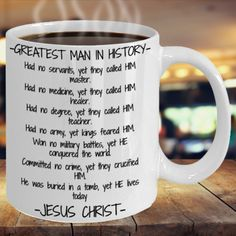 Bible Quotes, Me Quotes, Only Believe, Customised Mugs, Have A Blessed Day, Jesus Loves You, Gift List, Jesus Christ, Period