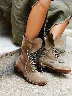 Rainfall Lace Up Boot