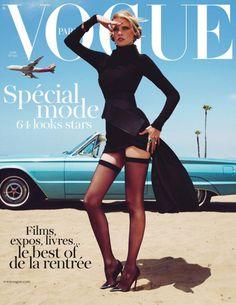 Vogue Paris August Cover #fashion