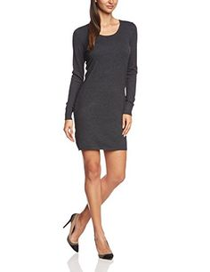 edc by ESPRIT Damen Strick Kleid Strick
