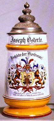 """Beer Stein Article - """"Collecting Antique Beer Steins"""""""