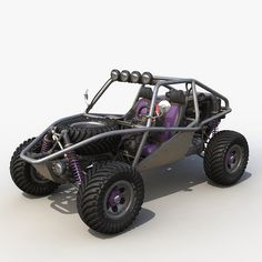 Dune buggy Model available on Turbo Squid, the world's leading provider of digital models for visualization, films, television, and games. Go Kart Buggy, Off Road Buggy, Kart Cross, Hors Route, Go Kart Plans, Diy Go Kart, Sand Rail, Go Car, 3d Max