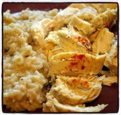 One Dish Chicken and Rice Bake Ingredients 1 (10 3/4 ounce) cans cream of mushroom soup * 1 cup water 3/4 cup uncooked long-grain rice ( not quick cooking)... 1/2 teaspoon paprika 1/2 teaspoon black pepper 4 boneless skinless chicken breast halves  *you can purchase gluten free cream of mushroom soup  Directions Preheat oven to 375°F. Mix soup, water, rice, and 1/4 tsp each of paprika and pepper in ungreased shallow 2-quart casserole. Lay chicken on top and sprinkle with remaining paprika…