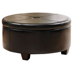 Modern HomePop Winston Upholstered Storage Ottoman | AllModern I want to put on casters for my bedroom.