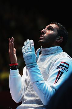 Silver for Egypt in fencing. London 2012