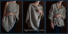 This is a versatile wrap that can be cozy and casual or a little sophisticated and stylish without being fussy or frilly. The open stitch pattern creates a monochromatic striped look and keeps it from being overly heavy or bulky. The light sport weight yarn used here (see previous post) is soft, a great neutral … Continue reading Simple Crochet Wrap – Free Pattern