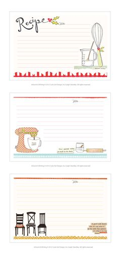 Curly Girl Design | Blog These are cute for your project @Pamela Culligan Culligan Culligan Hichens Swan