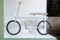 The Design Academy Eindhoven team's bike is aimed at the Dutch tendency to ride two to a bike