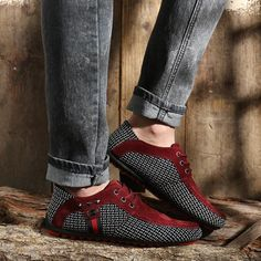 Casual Leather Shoes, Leather And Lace, Leather Men, Casual Shoes, Dress Casual, Leather Flats, Formal Dress, Casual Trainers, Casual Sneakers