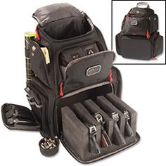 NRA Handgunner Backpack $119.00 click for website- oh I like this!!!!!!