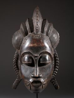 MASQUE AFRICAIN BAOULE