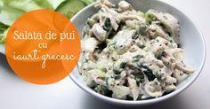 Salata de pui cu iaurt grecesc: sanatoasa si gustoasa.