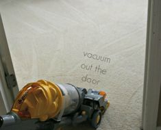 s your totally doable 31 day plan to a clean home, cleaning tips, home decor, Day 31 Vacuum your carpet the right way
