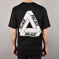 537eef38502a Palace Skateboards Palace Tri-Ferg Glow Skate T-Shirt - Black - Palace  Skateboards