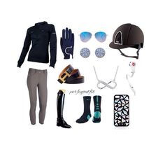 Sporty Equestrian Outfit