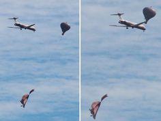 CONEXÃO BOMBEIRO : Balão é solto em área de rota de aviões na Zona No...