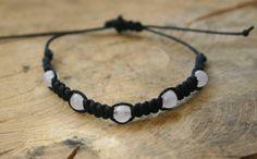 Bracelet Rose Quartz adjustable summer/spring gemstone by TriouZ, £6.79
