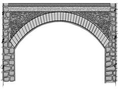 Image result for vault masonry fill