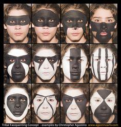 native face paint concept - Sök på Google