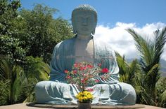 Lahaina Maui Photos: The Great Buddha at the Lahaina Jodo Mission Trip To Maui, Hawaii Vacation, Maui Hawaii, Vacation Villas, Vacation Destinations, Lanai Island, Lahaina Maui, Hawaiian Homes, West Maui