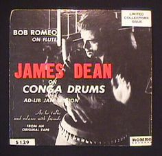 Drums just got cooler for me.  James Dean on Conga Drums