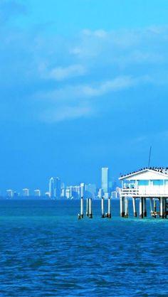 Stiltsville , Biscayne Bay , Miami-Dade County, Florida
