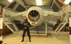 Star Wars...Una passione che diventa reale! (video) #Cinema #guerrestellari #starwars #tiefighter