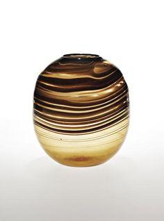Carlo Scarpa; Fili Glass Vase for Venini, c1942.