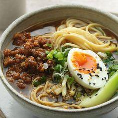 Pork Ramen Recipe, Ramen Noodle Recipes, Pork Recipes, Asian Recipes, Cooking Recipes, Healthy Recipes, Ethnic Recipes, Best Ramen Recipe, Olive Recipes