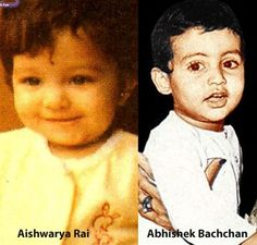 #Childhood Photos of Bollywood #Couples
