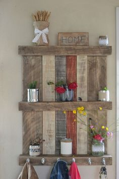 If you are looking for Diy Pallet Wall Art Ideas, You come to the right place. Below are the Diy Pallet Wall Art Ideas. This post about Diy Pallet Wall Art Ideas. Pallet Home Decor, Diy Pallet Wall, Wooden Pallet Projects, Upcycled Home Decor, Pallet Crafts, Pallet Furniture, Diy Home Decor, Diy Projects, Design Projects